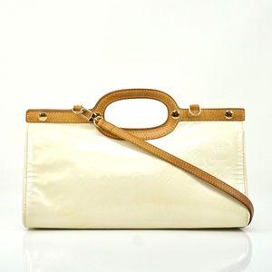 Auth Louis Vuitton Roxbury Drive White #2042L23
